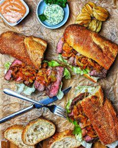 Steakbrötchen