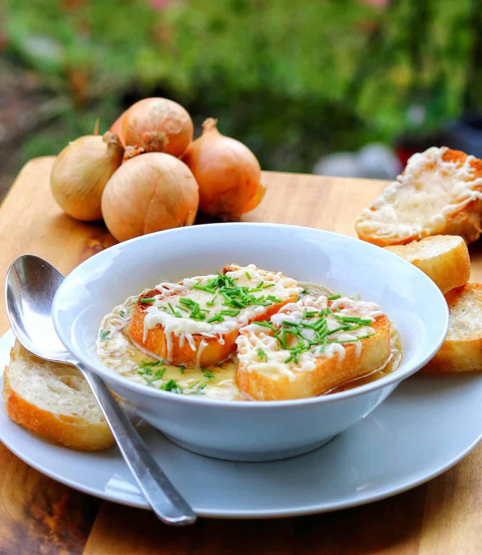 Französische Zwiebelsuppe – Einfaches Rezept