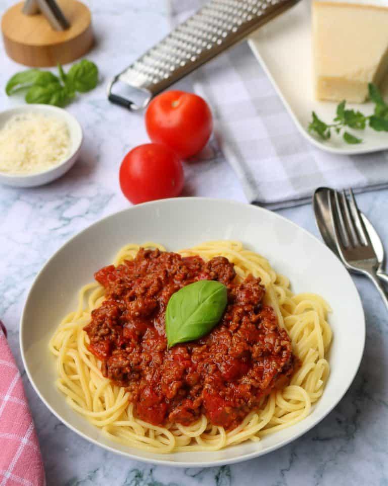Blitz Spaghetti Bolognese