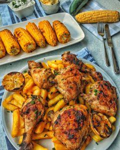 Griechisches Hähnchen vom Grill