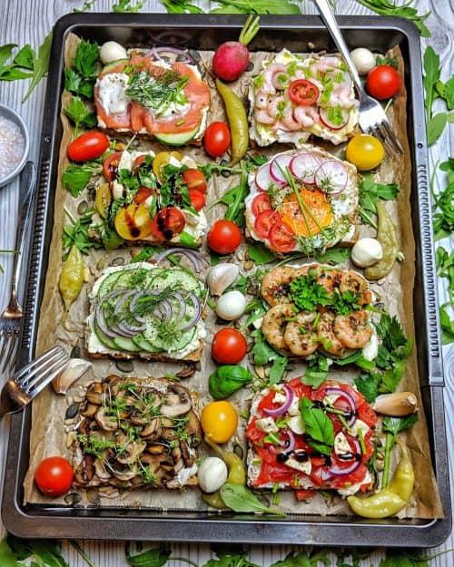 Belegte Brote – Neue Ideen für tolle Stullen