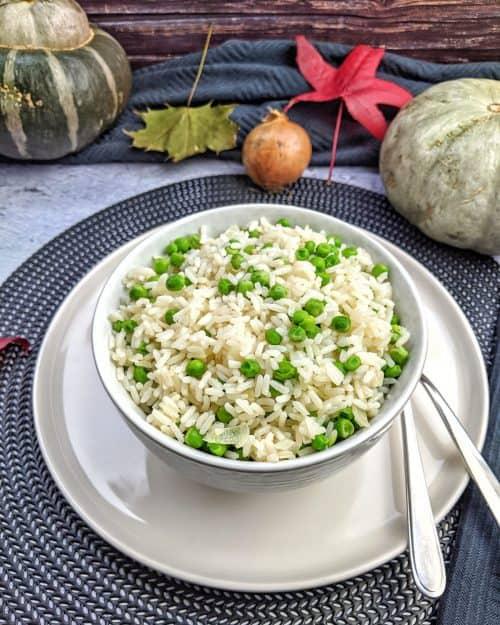 Risi Bisi – Erbsenreis – Das einfache vegetarische Rezept