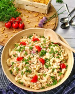 Klassischer Nudelsalat – Einfaches Rezept