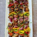 Kebab Spieße mit Rindfleisch – Einfaches Rezept